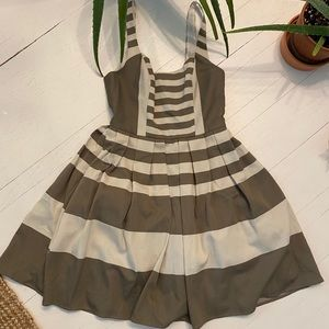 Guess by Maciano - grey off-white summer dress